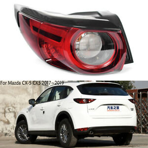LED Left Outer For Mazda CX-5 CX5 2017 2018 2019 Tail Light Rear Brake Driver LH
