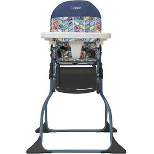 Baby High Chair Seat Toddler Child Portable Seat Safe Folding Adjustable Tray