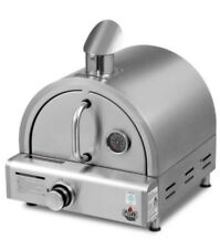 Portable Pizza Oven BBQ Camping LPG Gas Grill Cook Stove Stainless Steel