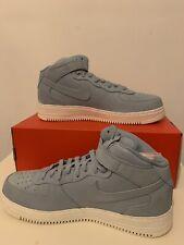 c08152996c01 New Nike NikeLab Air Force 1 Mid Blue Grey 905619-400 Men s Uk Size 14