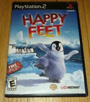 HAPPY FEET - PS2 - COMPLETE WITH MANUAL - FREE S/H - (R)