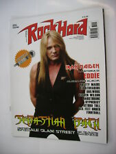 ROCK HARD #03/2013 - SEBASTIAN BACH - IRON MAIDEN - STRATOVARIUS - PRETTY MAIDS