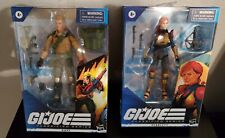 "Hasbro G.I. Joe Classified Series Duke and Scarlett 6"" Action Figure Lot of 2."