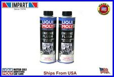 Liqui Moly Pro-Line Motor Oil Engine Flush (2) Cans 500ml  LM2037 .