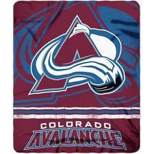 "Hockey Colorado Avalanche Fleece Throw Blanket 50"" X 60"""