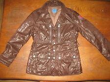 """Vintage Christian Lacroix """"jeans"""" - Vintage  - Parka doublée - marron - TBE - 38"""
