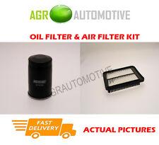 PETROL SERVICE KIT OIL AIR FILTER FOR HYUNDAI I10 1.2 77 BHP 2008-