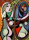 Print -   Girl Before A Mirror, 1932 by Pablo Picasso
