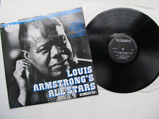 "The Best of Louis Armstrong &  All-Stars Vol. 1 12"" LP Flutegrove FL18 Mono"