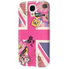 Pink Union Jack Hard Shell Case Cover Samsung Galaxy S4 - Official Accessorize