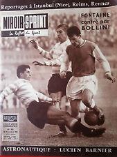 23/11/1959 miroir sprint n°703 FOOTBALL REIMS RACING NICE FENERBACHE LARRUE