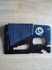 Ape survival Mini Work Tool  (Credit Card Survival Tool), SOS Help. no case