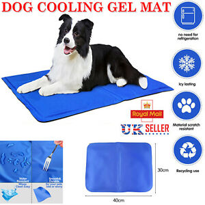 1/2/3/4 Pet Self Cooling Gel Mat Pillow Cool For Dog Cat Pad Bed Heat Relief LOT