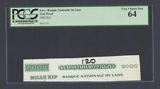 Laos - Banque National du Laos 1000 Kip Test Proof Vignette Uncirculated