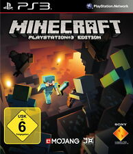 Minecraft PlayStation 3 Edition ps3 Blitzversand (Sony PlayStation 3)  NEUWARE