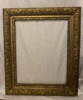 ORNATE ANTIQUE GOLD GESSO 3-PART FRAME 22 X 26 Wood Frame