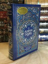 THE ARABIAN NIGHTS Full Color Illustrations LEATHER & BRAND NEW!