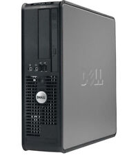 Dell OptiPlex Ordinateur Bureau PC Intel Core 2 Duo E8400 3GHz 4GB RAM 250GB HDD
