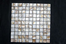 Reduced! Natural Shell Mosaic Backsplash Tiles - Mother of Pearl