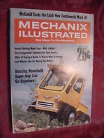MECHANIX Illustrated April 1968 Super Jeep Lincoln Continental Mark III Pontiac