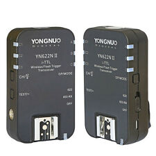 Yongnuo 2PCS YN-622N II Wireless TTL HSS 1/8000S Flash Trigger for Nikon D3200