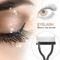 Eyelash Comb Lash Separator Mascara Lift Curl Metal Brush Beauty Makeup Tool