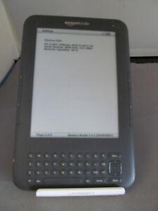 "Amazon Kindle Keyboard 3rd Gen 4 GB Wi-Fi 6"" 08BG Small Marks"