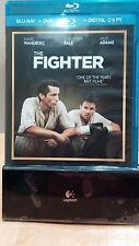 The Fighter 2010 (Blu-ray), Mark Wahlberg,Christian Bale - Free Shipping - No UV