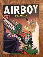 Airboy Comics Vol 4, #7 (Hillman, 1947) F/VF Simon & Kirby art