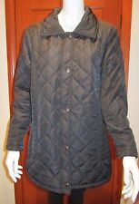 EQUUS BREAKAWAY QUILTED JACKET Size 12 black colour new with tag fleece lining