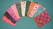 "Timeless Treasure Tonga ""PASHMINA BATIKS"", 12 Fat Quarters,Grp #1, 100% Cotton"