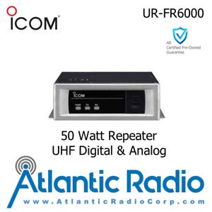 Icom UR-FR6000 Repeater 50W Analog (Narrow/Wide) Digital (IDAS) UHF (400-470MHz)