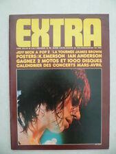 Magazine EXTRA n ° 29 - Avril 1973 - Cv. Jeff BECK - sans le poster