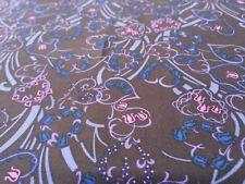 Liberty Silk Twill 100%, 'Minako', Cobalt, (per metre) dress fabric, sewing