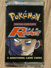 Unlimited 1999 Team Rocket Factory Sealed Pokemon Booster Box Pack Design 2