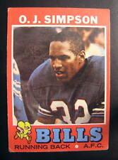 * 1971 Topps OJ Simpson #260 Football Card *