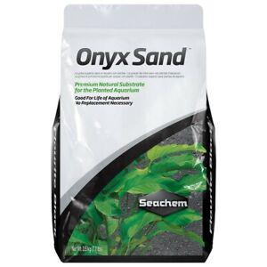 Seachem Onyx Sand Planted Aquarium Substrate 3.5kg/7.7lbs