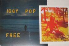 "Iggy Pop - Free LP NEW Ltd. Ed. Blue Vinyl + added value 8"" x 10"""