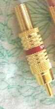 """(1) male Connector pin ~  2"""" long ~ for 1/4""""D cable ~"""