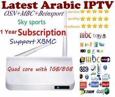 Arabic & World IPTV Arab TV Box, Android, 400 + LIVE TV Channels, No BUFFERING