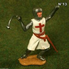 Timpo Toys Made in GT.Britain Kreuz Ritter mit Morgenstern