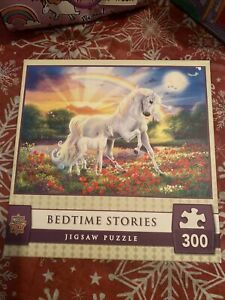 Fantasy Unicorn Bedtime Stories PUZZLE 300 EZ Grip pieces Masterpieces