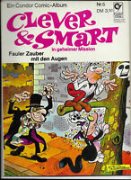 Clever & Smart Nr.5 von 1972 - TOP Z1 ORIGINAL ERSTAUFLAGE COMIC-ALBUM Condor