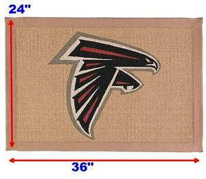New NFL Atlanta Falcons Memory Company Jute Rug. Great for your Door or Man Cave