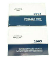 2003 Chevrolet Cavalier Factory Original Owners Manual #13