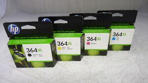 Original HP 364XL Tintenset schwarz, magenta, cyan, yellow [01-04-24]