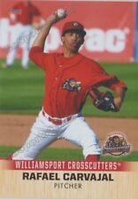2018 Williamsport Crosscutters Rafael Carvajal RC Rookie Philadelphia Phillies