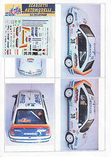 Decals 1/43e Opel Kadett GSi 16v travaglia Isola Elba 1990