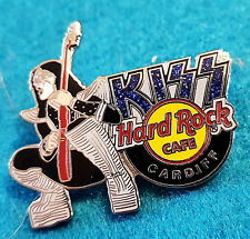CARDIFF WALES KISS GLOBAL SERIES ACE FREHLEY GUITAR 2006 Hard Rock Cafe PIN LE