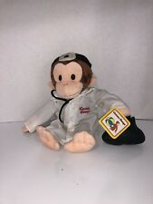 Curious George Stuffed Animal Plush Monkey Doctor 12""